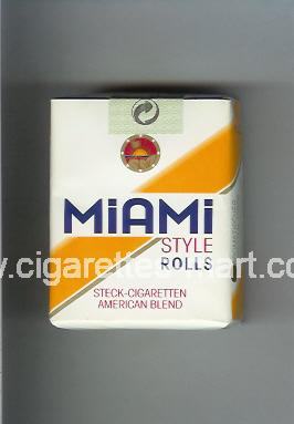 Miami (german version) (design 1) (Style / Rolls / American Blend) ( soft box cigarettes )