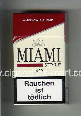 Miami (german version) (design 2) (Style / American Blend) ( hard box cigarettes )