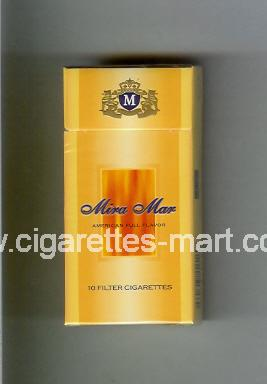 Mira Mar (design 1A) (American Full Flavor) ( hard box cigarettes )