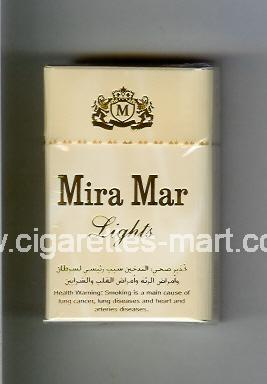 Mira Mar (design 2A) (Lights) ( hard box cigarettes )