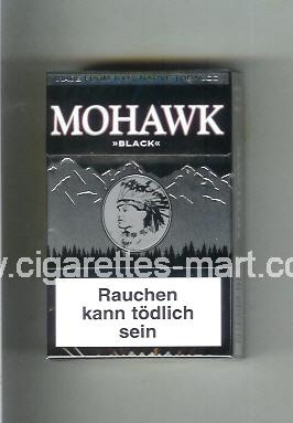 Mohawk (design 3) Black ( hard box cigarettes )