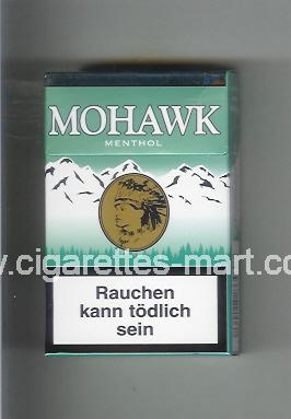 Mohawk (design 3) Menthol ( hard box cigarettes )