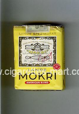 Mokri (design 1A) (Lande / American Blend) ( soft box cigarettes )