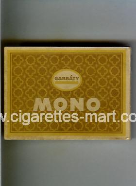 Mono (Garbaty) ( box cigarettes )