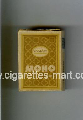 Mono (Garbaty) ( hard box cigarettes )