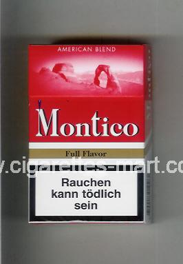 Montico (Full Flavor / American Blend) ( hard box cigarettes )