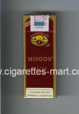 Moods (german version) (design 1) Dannemann (Filter) ( hard box cigarettes )