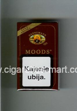 Moods (german version) (design 1) Dannemann ( hard box cigarettes )