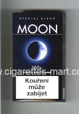 Moon (german version) (design 1) (Special Blend) (dark blue) ( hard box cigarettes )