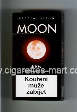 Moon (german version) (design 1) (Special Blend) (dark brown) ( hard box cigarettes )