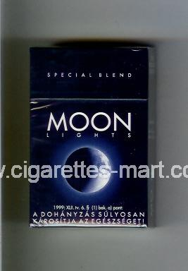 Moon (german version) (design 1) (Special Blend / Lights) ( hard box cigarettes )