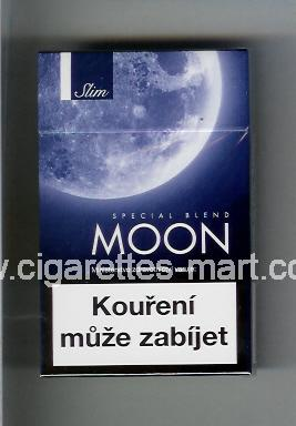 Moon (german version) (design 2) (Slim / Special Blend) ( hard box cigarettes )