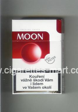 Moon (german version) (design 3) (Special Taste / Dual Filter) ( hard box cigarettes )