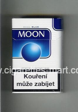 Moon (german version) (design 3B) (Dual Blue) ( hard box cigarettes )