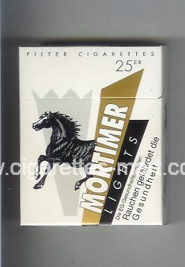 Mortimer (Lights) ( hard box cigarettes )
