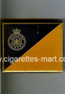 Muratti Gentry (design 1) ( box cigarettes )