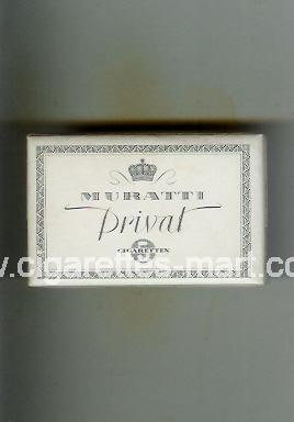Muratti (german version) (design 1) Privat ( box cigarettes )