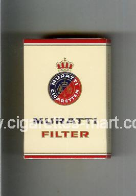 Muratti (german version) (design 2) (Filter) ( hard box cigarettes )
