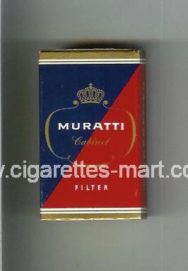 Muratti (german version) (design 3) (Cabinet / Filter) ( hard box cigarettes )