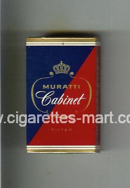 Muratti (german version) (design 3A) (Cabinet / Filter) ( hard box cigarettes )