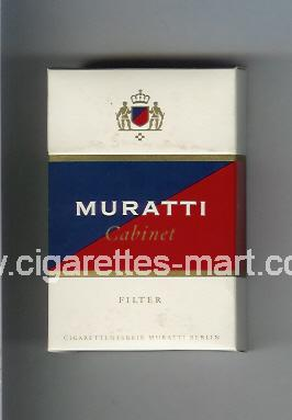 Muratti (german version) (design 4) (Cabinet) ( hard box cigarettes )