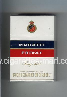 Muratti (german version) (design 5) Privat ( hard box cigarettes )