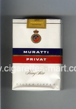 Muratti (german version) (design 5) Privat ( soft box cigarettes )