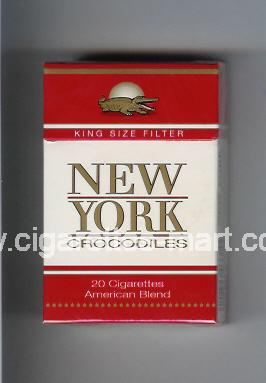 New York (german version) Crocodiles (American Blend) ( hard box cigarettes )