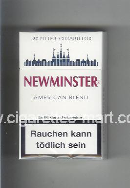Newminster (American Blend / Cigarillos) ( hard box cigarettes )