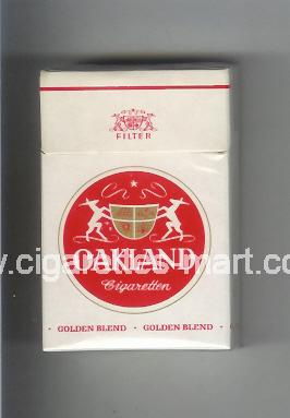 Oakland (german version) (Golden Blend / Filter) ( hard box cigarettes )