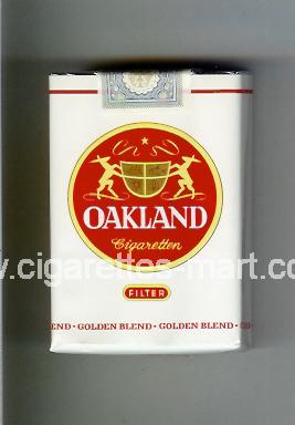 Oakland (german version) (Golden Blend / Filter) ( soft box cigarettes )