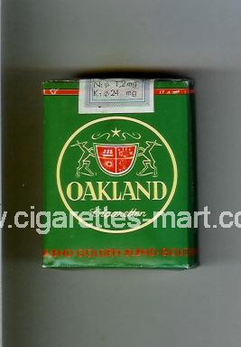 Oakland (german version) (Golden-Blend) ( soft box cigarettes )