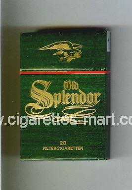 Old Splendor (german version) ( hard box cigarettes )