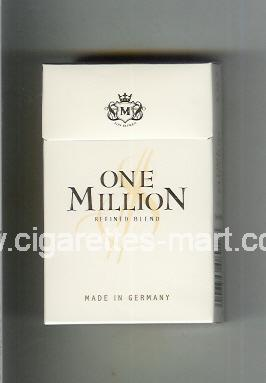 One Million (Refined Blend) ( hard box cigarettes )