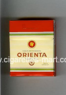 Orienta (design 1) (Rein Orient) ( hard box cigarettes )