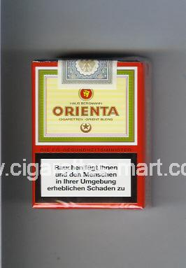 Orienta (design 1A) ( soft box cigarettes )