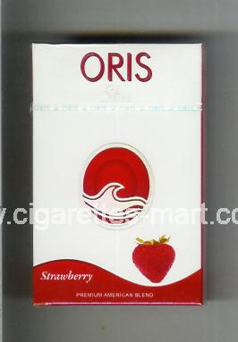 Oris (design 1B) (Slims / Strawberry) ( hard box cigarettes )