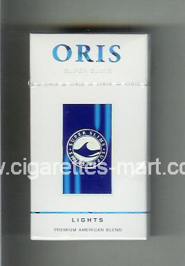 Oris (design 4) (Super Slims / Lights) ( hard box cigarettes )
