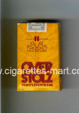 Overstolz (design 1) (Naturrein) ( soft box cigarettes )
