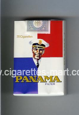 Panama (german version) (design 1) (Filter) ( soft box cigarettes )