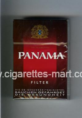 Panama (german version) (design 2) (Filter) ( hard box cigarettes )
