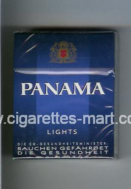 Panama (german version) (design 2) (Lights) ( hard box cigarettes )