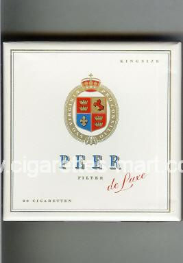 Peer (design 9) (De Luxe / Filter) ( box cigarettes )