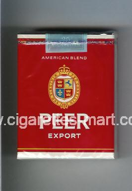 Peer (design 9) (Export / American Blend) ( soft box cigarettes )