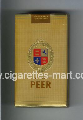 Peer (design 9) (Golden) ( soft box cigarettes )