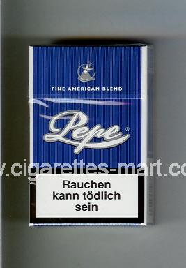 Pepe (design 1) (Fine American Blend) ( hard box cigarettes )