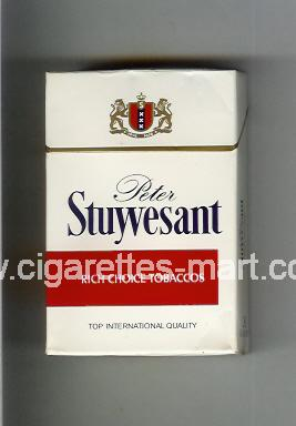 Peter Stuyvesant (design 1) (Rich Choice Tobaccos) ( hard box cigarettes )
