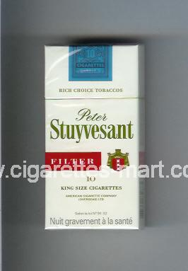 Peter Stuyvesant (design 2) (Filter) ( hard box cigarettes )