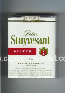 Peter Stuyvesant (design 2) (Filter) ( soft box cigarettes )