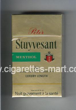 Peter Stuyvesant (design 2) (Menthol) ( hard box cigarettes )